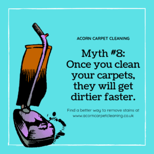 Debunking Clean Carpet Gets Dirtier Faster Myth